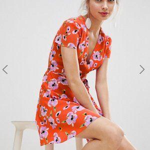 ASOS Glamorous Mini Dress in Floral Print